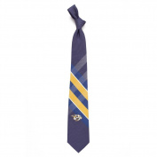 Nashville Predators Grid Poly Necktie