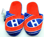 NHL Montreal Canadiens Men's Team Logo Slippers Large