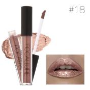 DZT1968 1PC 7color Women Sexy FOCALLURE Lipstick Cosmetics moisturising lasting Lips Metallic Lip Gloss