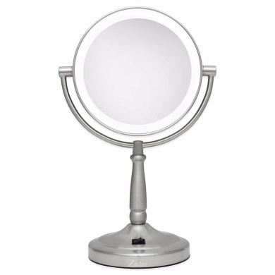 Makeup Mirror,10x/1x Cordless LED Lighted Vanity Mirror Vanity LED