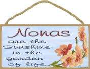 Dogwood Nonas Are The Sunshine In The Garden Of Life SIGN Plaque 13cm x 25cm