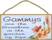 Dogwood Gammys Are The Sunshine In The Garden Of Life SIGN Plaque 13cm x 25cm