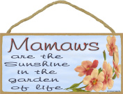 Dogwood Mamaws Are The Sunshine In The Garden Of Life SIGN Plaque 13cm x 25cm