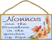 Dogwood Nonnas Are The Sunshine In The Garden Of Life SIGN Plaque 13cm x 25cm