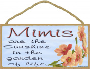 Dogwood Mimis Are The Sunshine In The Garden Of Life SIGN Plaque 13cm x 25cm