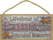 Stars Dust Is A Country Accent Primitive Rustic Sign 13cm x 25cm