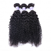 Brazilian Virgin Hair Curly Hair Weave 3 Bundles Unprocessed Brazilian Human Hair Extensions