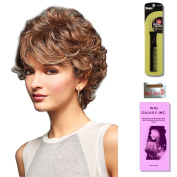 Bailey by Henry Margu, Wig Galaxy Hair Loss Booklet & Magic Wig Styling Comb/Metal Pick Combo (Bundle - 3 Items), Colour Chosen