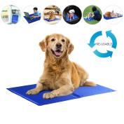 Magic Cool Cooling Gel Pad Pillow Cooling Mat Laptop Cushion Yoga Pet Bed Sofa - Dog Cat Magic Cool Cooling Gel Pad Pillow
