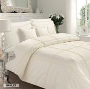 HAMLET CREAM Duvet Quilt Cover with Pillowcase Bedding Set - DOUBLE, KING & SUPER KING