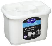 Addis Plastic Cutlery Drainer Holder White