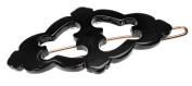 France Luxe Darcy Tige Boule Barrette - Black