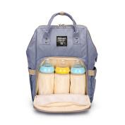 Cocoo Mummy Backpack Multifunction Waterproof Baby Nappy Nappy Handbag Large Capacity Travel tote Bag Purple