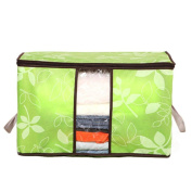 NXDA Durable Foldable Clothes Quilt Pillow Blanket Storage Bag Tote Medium