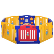 Iluvmyhome Baby Playpen Kids 8 Panel Safety Play Centre Yard Home Indoor Outdoor New Pen