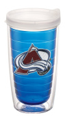 "Tervis 2688610cm NHL Colorado Avalanche"" Tumbler with Clear Lid, 470ml, Sapphire"