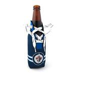 NHL Winnipeg Jets Laced Bottle Cooler, Small, White
