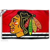 Chicago Blackhawks 0.6mx0.9m Flag
