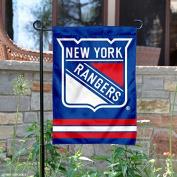 New York Rangers Double Sided Garden Flag