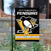 Pittsburgh Penguins Double Sided Garden Flag