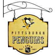 NHL Pittsburgh Penguins Men's Tavern Sign, Small, Multicolor