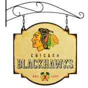 NHL Chicago Blackhawks Men's Tavern Sign, Small, Multicolor