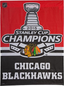 Chicago Blackhawks 27x37 Banner - 2015 Champion