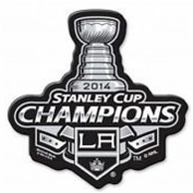 NHL Los Angeles Kings 2014 Stanley Cup Champions 6 Magnet, Black