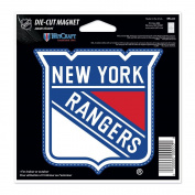 New York Rangers Official NHL 11cm x 15cm Car Magnet by Wincraft
