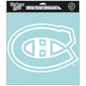 Montreal Canadiens Official NHL 20cm x 20cm Die Cut Car Decal by Wincraft 296276
