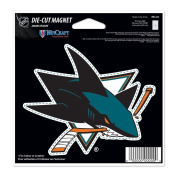 San Jose Sharks Official NHL 11cm x 15cm Car Magnet by Wincraft