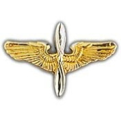 Pins- WING-ARMY,AVIATOR,EARLY- (MINI)