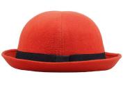 COMVIP Vintage Trendy Cloche Cap Women Warm Bowler Derby Hat