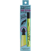 Hard Candy Bold & Gorgeous Dare to Flick Felt Tip Liner, #1109 Blackest Black, 0ml