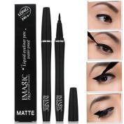 IMAGIC Black Long Lasting Eye Liner Pencil Waterproof Eyeliner Cosmetic Beauty Makeup Liquid Eyeliner Pen Makeup Beauty