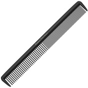 "Styling Comb - Professional 8.75"" Black Carbon Fibre Anti Static Chemical And Heat Resistant Hair Combs For All Hair Types - By Bardeau Essentials"