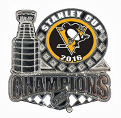 Pittsburgh Penguins 2016 NHL Stanley Cup Champions Pin