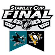 2016 NHL Stanley Cup Final Duelling Lapel Pin