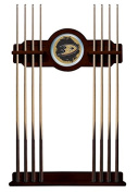 Anaheim Ducks Cue Rack in English Tudor Finish