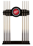 Detroit Red Wings Cue Rack in Black Finish