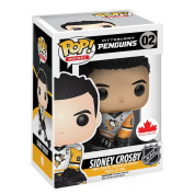 Funko NHL Sidney Crosby White Away Jersey Exclusive Pop Figure
