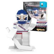 NHL New York Rangers Henrik Lundqvist GEN 2 Limited Edition Minifigure, Small, Black