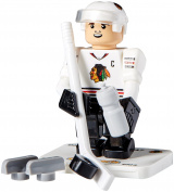 NHL Chicago Blackhawks Jonathan Toews GEN 2 Limited Edition Minifigure, Small, Black
