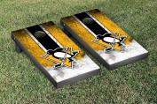 Pittsburgh Penguins NHL Cornhole Game Set Vintage Version