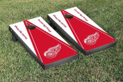 Detroit Red Wings NHL Cornhole Game Set Triangle Version