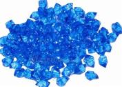 Acrylic Ice Crystal Rocks Vase Filler 23 X 18MM Blue