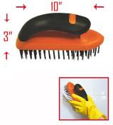 Soft Grip Steel Scrub Brush