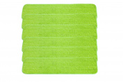 LTWHOME 60cm Microfiber Wet or Dry Mop Pads in Green for All Hard Surfaces Cleaning