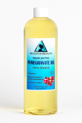 Pomegranate Seed Oil Refined Organic Carrier Cold Pressed Natural Fresh 100% Pure 470ml