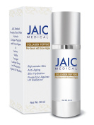 JAIC Anti Ageing Serum - Collagen with Snow Algae for Natural Skin Care for Your Eyes at Night - For Men and Women, 30 ml